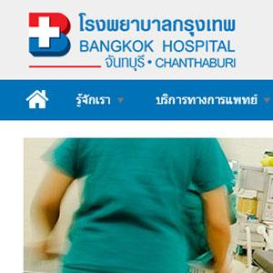 ChanthaburiHospital.com by GooDesign.in.th
